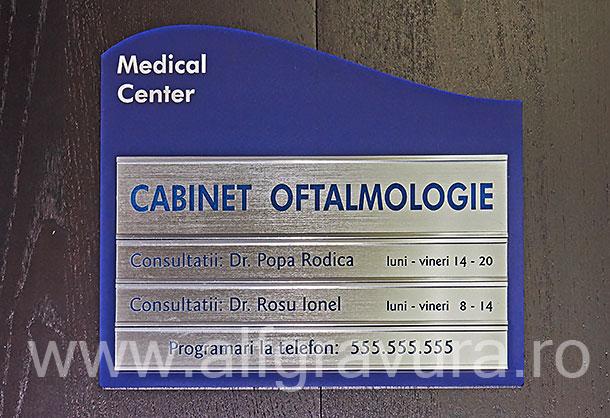 Indicator modular cabinet medical