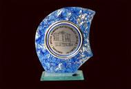 Trofee sticla albastra