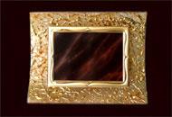 Trofee concave sticla pictata