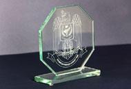 Trofee sticla octogonale 2